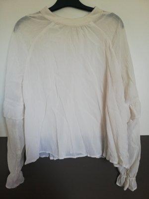 Clockhause Long Sleeve Blouse white