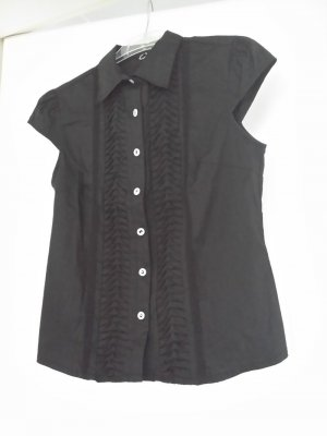 Concept UK Sleeveless Blouse black mixture fibre