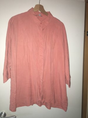 COS Blouse oversized saumon lyocell