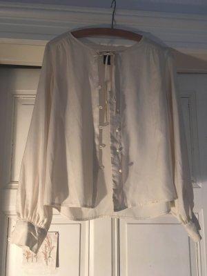 Bluse cremefarben, leicht und dünn, von H&M
