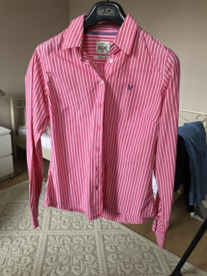 Crew Clothing Long Sleeve Blouse white-pink