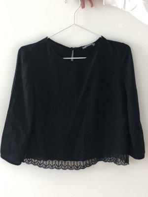 Bershka Blouse Shirt black