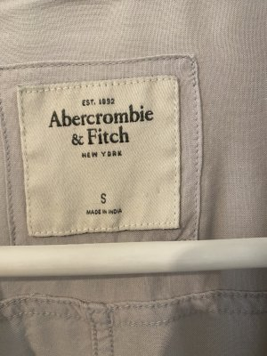 Abercrombie & Fitch Long Sleeve Blouse silver-colored-light grey