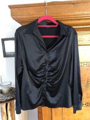 Basler Glanzende blouse zwart