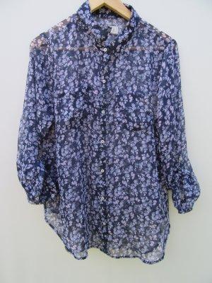 Bluse Damen Abercrombie & Fitch Blumen Gr. M