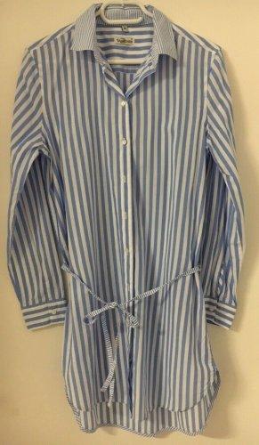 Bluse, Damen, Größe 36, gestreift, blau & weiß, Upfashion, neu