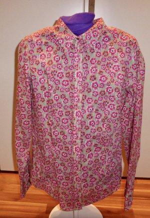 Bluse Damen Marc O Polo M (38) rosé mit Blumen