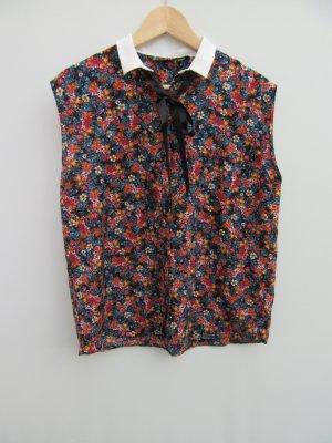 Bluse Damen Zara Blumen Gr. L