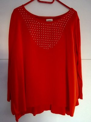 Canda Blouse à enfiler rouge