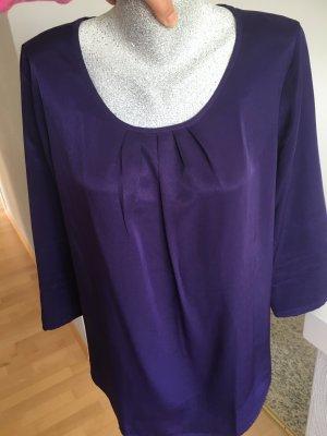 Walbusch Blouse dark violet