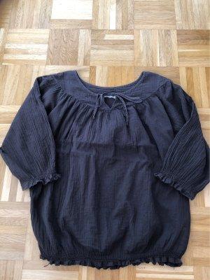 Bluse, dunkelgrau, Zara, Gr. M