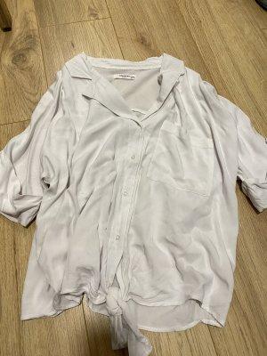 Reserved Kołnierzyk koszulowy jasnoszary-biały
