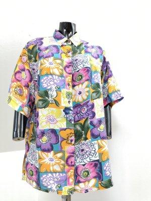 Premium Vintage Silk Blouse multicolored