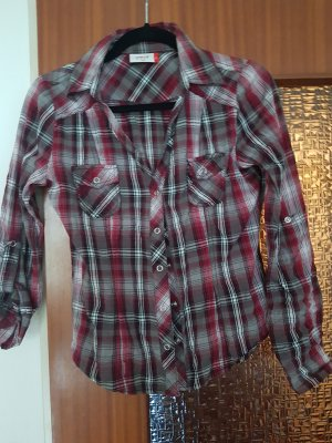 beat wear Checked Blouse multicolored