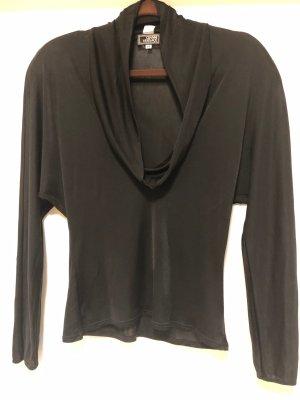 Gianni Versace Blusa brillante nero