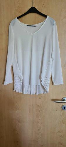 Angela Davis Camicetta a maniche lunghe bianco sporco