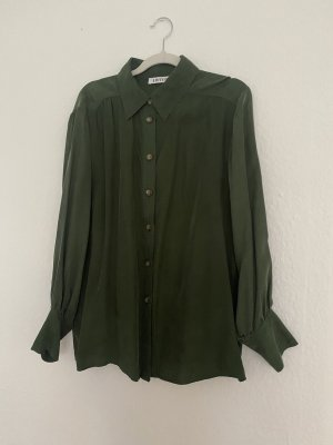 Edited Camicetta a maniche lunghe verde scuro