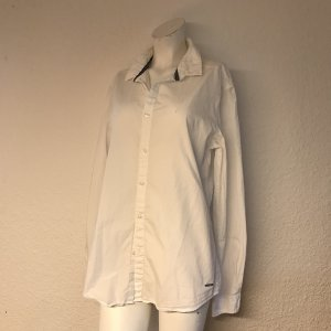 edc by Esprit Blusa-camisa blanco-azul acero