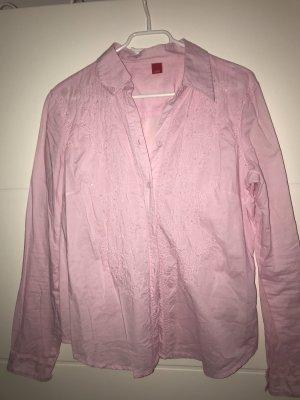 Bluse Esprit rosa Frühling Sommer Gr. 40