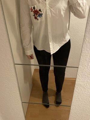 Bluse Esprit Stickerei Baumwolle