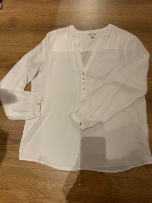 Esprit Blusa brillante bianco sporco-bianco