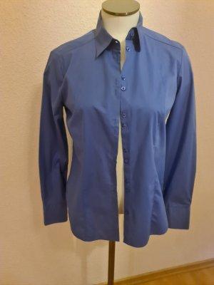 Eterna Camicia blusa blu acciaio