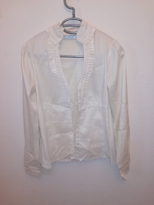 Silk Blouse natural white