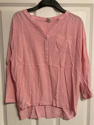 17&co Blusa caída rosa