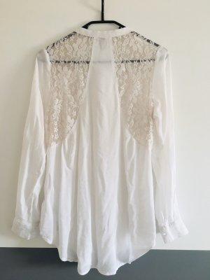 AC Bluzka z długim rękawem biały