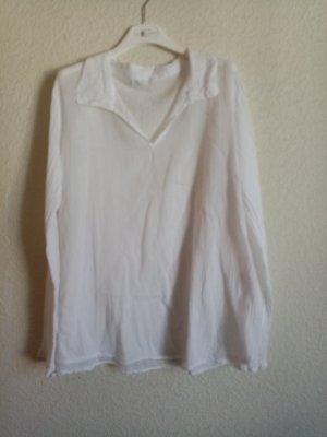 Made in Italy Blouse à enfiler blanc