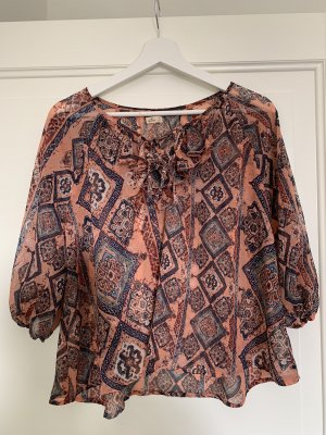 Hollister Ruffled Blouse multicolored