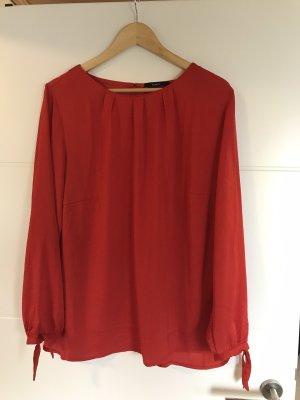Bonita Tunic Blouse dark red