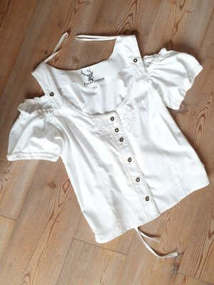 Spieth & Wensky Tradycyjna bluzka biały