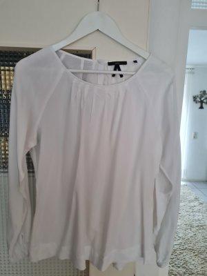 Zero Blusa a tunica bianco