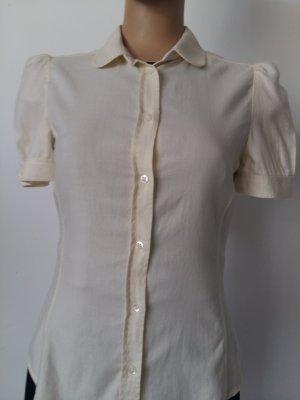 Carolina Herrera Bluzka z krótkim rękawem w kolorze białej wełny Bawełna
