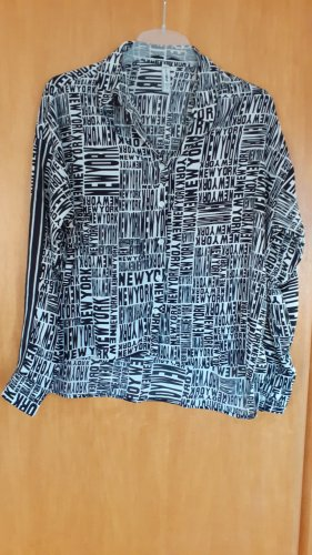 Bluse fishbone new york print