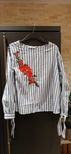 Bluse floral von Mango Größe XL, fällt wie L