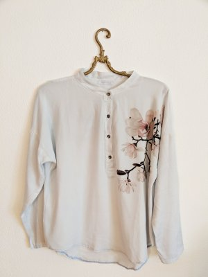 Bluse florales Muster elegant MADE IN ITALY