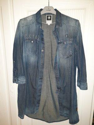 G-Star Blouse en jean bleu