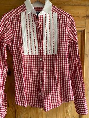 Gant Camicia a scacchi rosso scuro-bianco