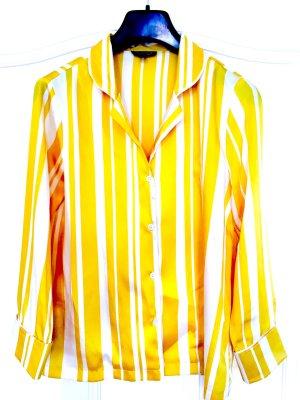 Bluse gelb gestreift Top Shop  Gr. 36 - neuwertig