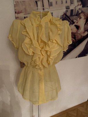 Romeo & Juliet Couture Camicetta a maniche corte giallo pallido