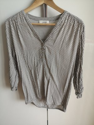 Cartoon Blouse Top light grey-grey