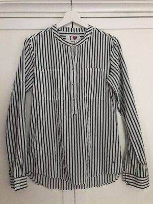 s.Oliver Shirt Blouse black-white