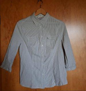 Canda Shirt Blouse white-black