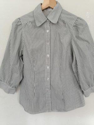 Vivien Caron Shirt Blouse white-dark blue