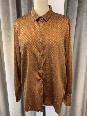 Robert Friedman Blouse en soie bronze-orange