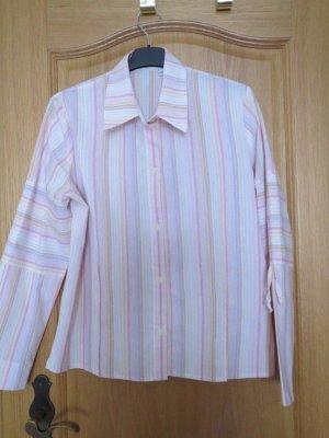 Bluse, Gr.40/42, gestreift, in rosa
