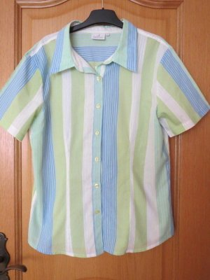 Authentic Short Sleeved Blouse multicolored