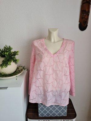 Ashley Brooke Long Sleeve Blouse light pink